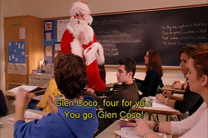 MEAN GIRLS - The actor who played Glen Coco, David Reale, actually auditioned for the part of Aaron, but was bumped out by Jonathan Bennett and was given the role of Glen Coco instead. Win.