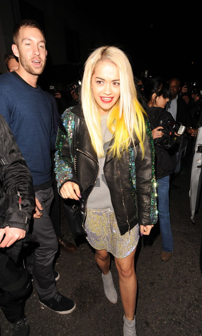 <strong>MAY 23, 2013<br><br></strong> Meanwhile, he's been dating Rita Ora, who has very good taste. <br><br> GETTY