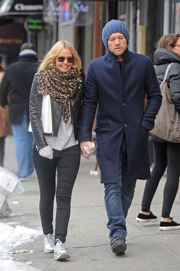 """<p>Like most celebrities, a <a href=""""http://www.acnestudios.com/shop/women/coats-jackets/mock-black-124162.html"""">Acne Studios Leather Jacket</a> is a staple in Lara Bingle's wardrobe.</p>"""