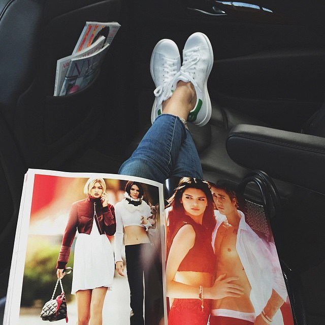 """<p>Kendall: """"My sisters tend to wear heels, but I'm super into flats.""""</p>"""