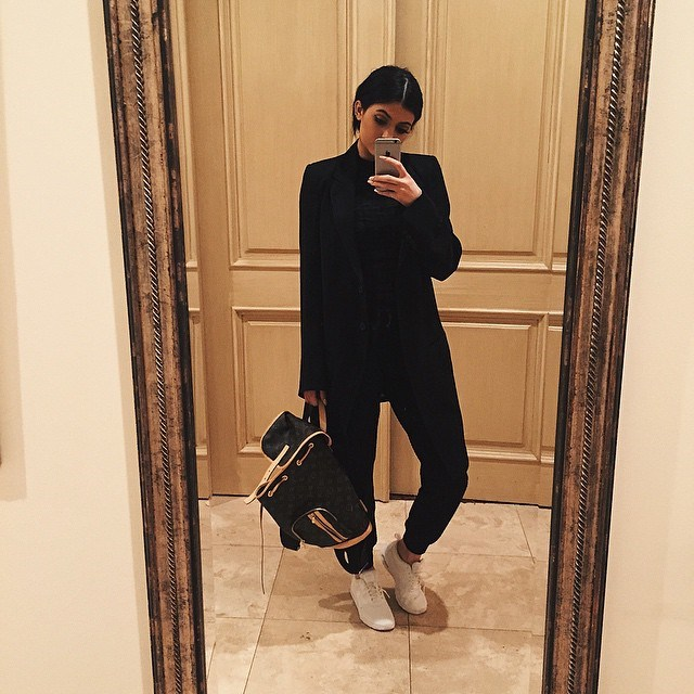 """<p>Kylie: """"I don't wear flats. Ever. I don't own a pair, not even gladiators. Just a few sneakers — that's the only time I'll wear a flat.""""</p> <p>""""Heels make me feel so much better. I'm not as skinny as Kendall, so when I'm in heels, it makes my legs look longer and slimmer.""""</p>"""