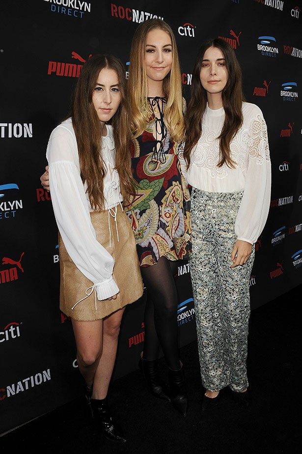 The Haim sisters are basically all reincarnated musos from 1970.