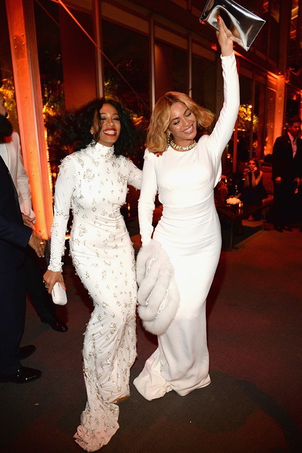 Solange and Beyonce both have strong senses of style, and self. Bow down.
