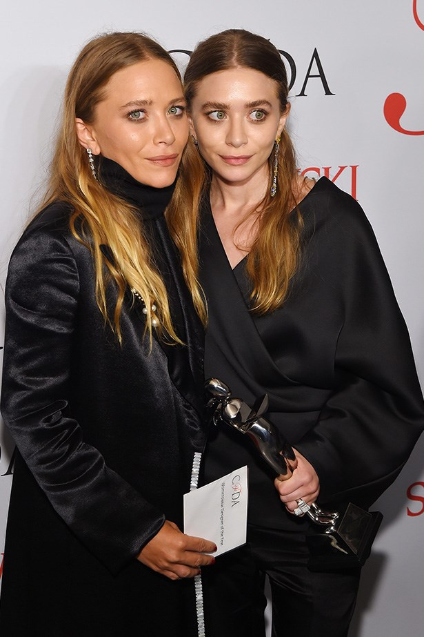Maybe the ultimate stylish sister combo. The Olsen twins have honed their individual styles, and also, you know, launched a luxury fashion label.