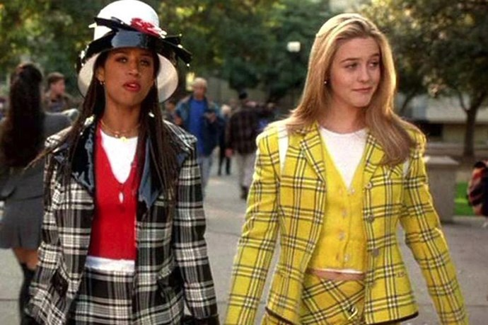 Clueless is celebrating its 25 anniversary in 2015, and its cult status was in part because of the fashion moments it created. Like, these plaid outfits and that Calvin Klein dress. Click.