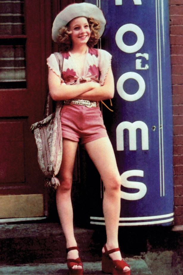 Jodie Foster's role as 13 year-old prostitute Iris in Taxi Driver has provided plenty of fashion inspo, the little shorts, the wide-brimmed hat  and the big accessories have had staying power.