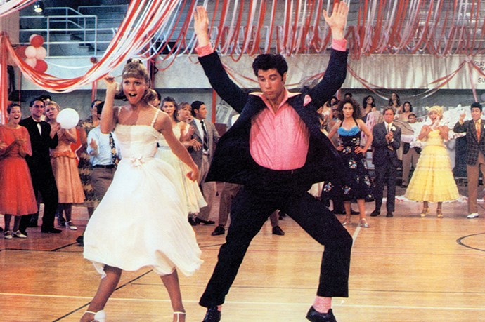 Yes, Sandy shouldn't change who she is for a boy ... butttttt there were so many fun outfits in Grease! And John Travolta was still hot!