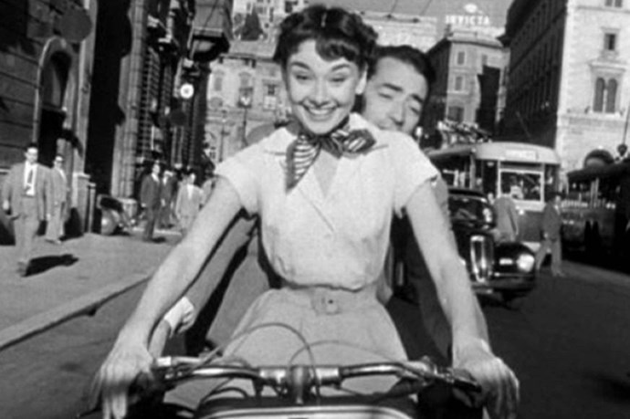 Watching Roman Holiday is almost as good as actually going on a holiday - those espadrilles! The twilly! So chic.