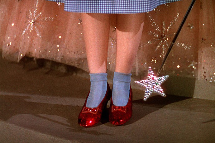 The Wizard of Oz. All about the shoes, yeah?