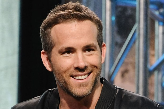 Baby James doesn't have much time for Ryan Reynolds