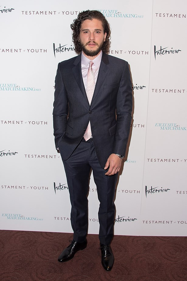 Kit Harington has to keep his beard because of his job (does he still though!? Let's reignite the GoT rumour again) but his sleek style combined with his scruffy beard is a true stand-out in the field.