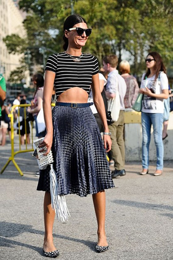 Street style star Giovanna Battaglia.