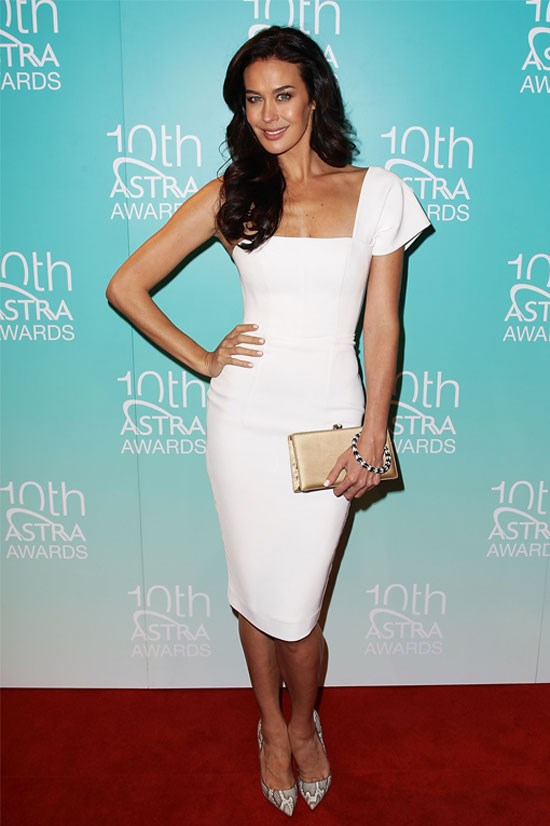 Megan Gale at the 2012 ASTRA Awards.