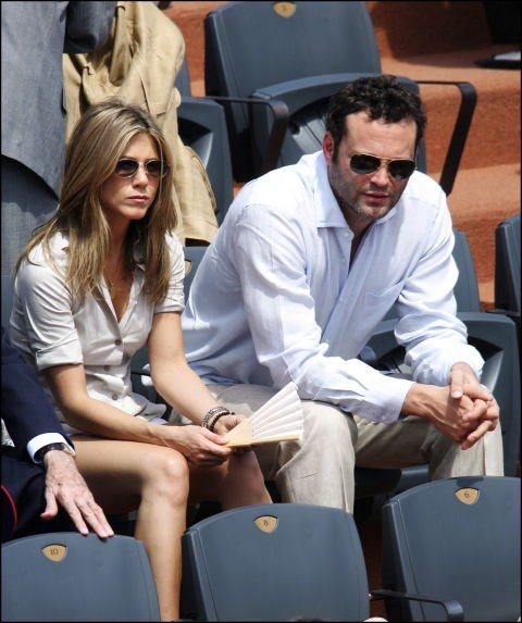 JUNE 11, 2006 Laid-back button downs and matching slouches with Vince Vaughn.