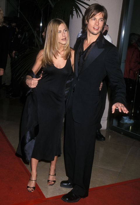FEBRUARY 17, 2000 All-black black tie with Brad Pitt.