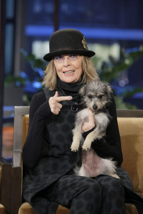 DIANE KEATON He knows what I'm talking about. GETTY