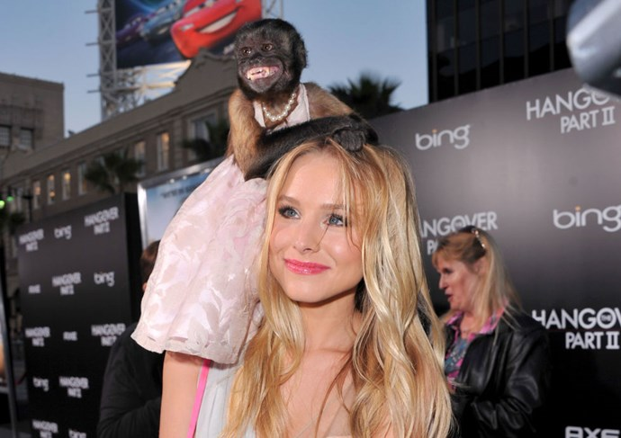 KRISTEN BELL Casual. GETTY