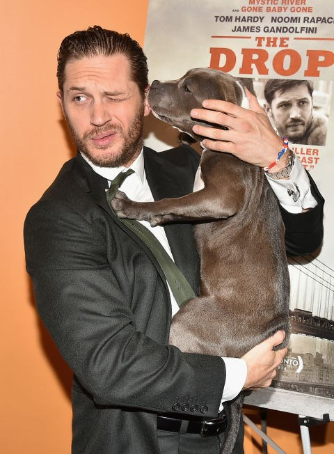 TOM HARDY Oof, there's nothing worse than a wet willy.