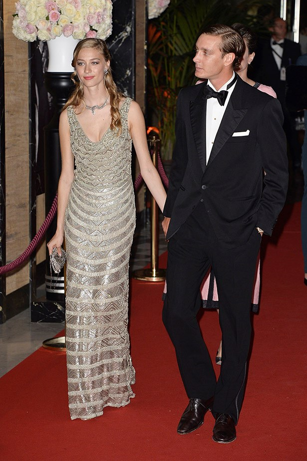 Pierre Casiraghi and Beatrice Borromeo attend the Rose Ball 2015 in aid of the Princess Grace Foundation at Sporting Monte-Carlo on March 28, 2015 in Monte-Carlo, Monaco.  (Photo by Pascal Le Segretain/WireImage)