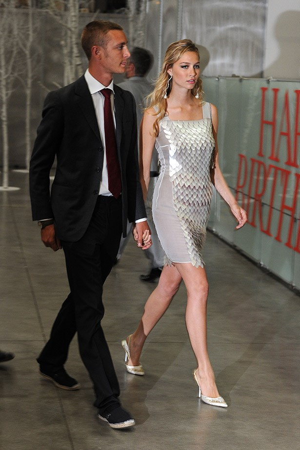 Pierre Casiraghi and Beatrice Borromeo attend the 2010 Convivio held at Fiera Milano City on June 10, 2010 in Milan, Italy.