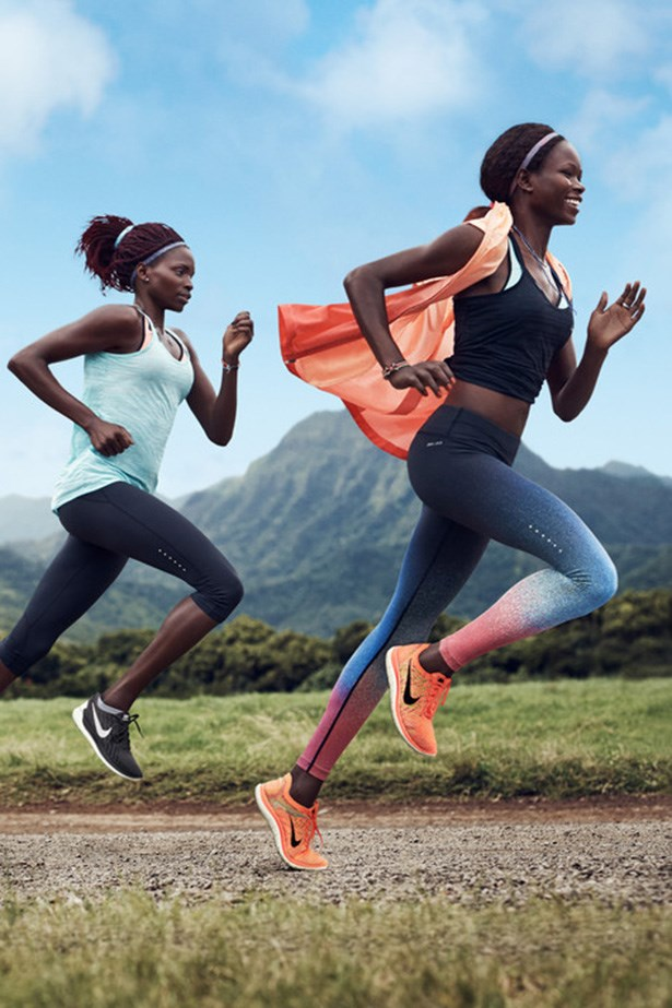 Run fast with Nike