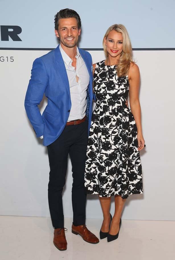Tim Robards and Anna Heinrich
