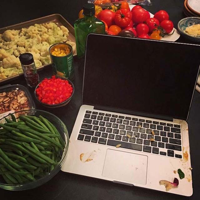 @chrissyteigen Recipe writing with @adeenasussman!
