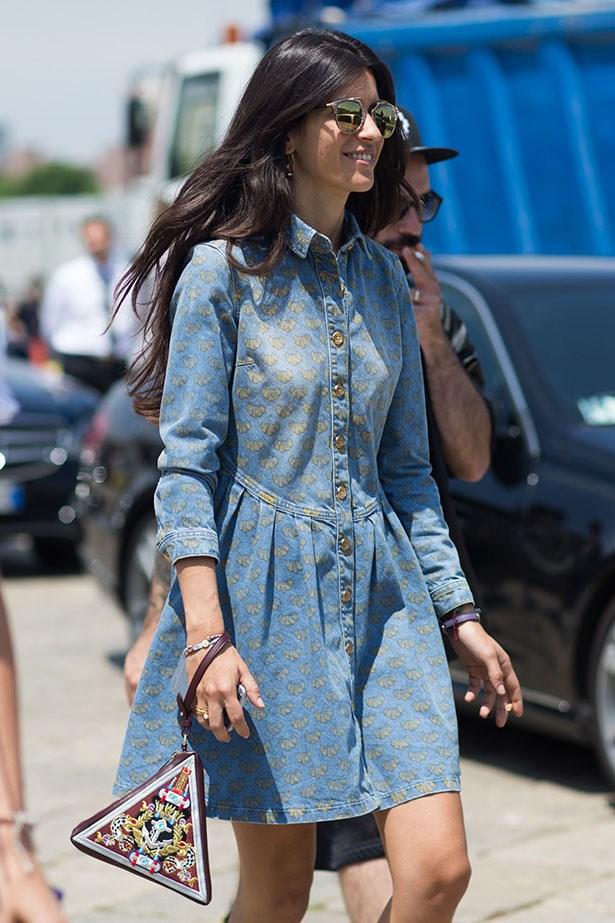 Italian stylist Chiara Totire.