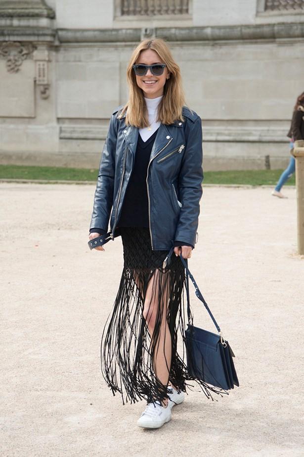 Danish fashion blogger and stylist, Pernille-Teisbaek.