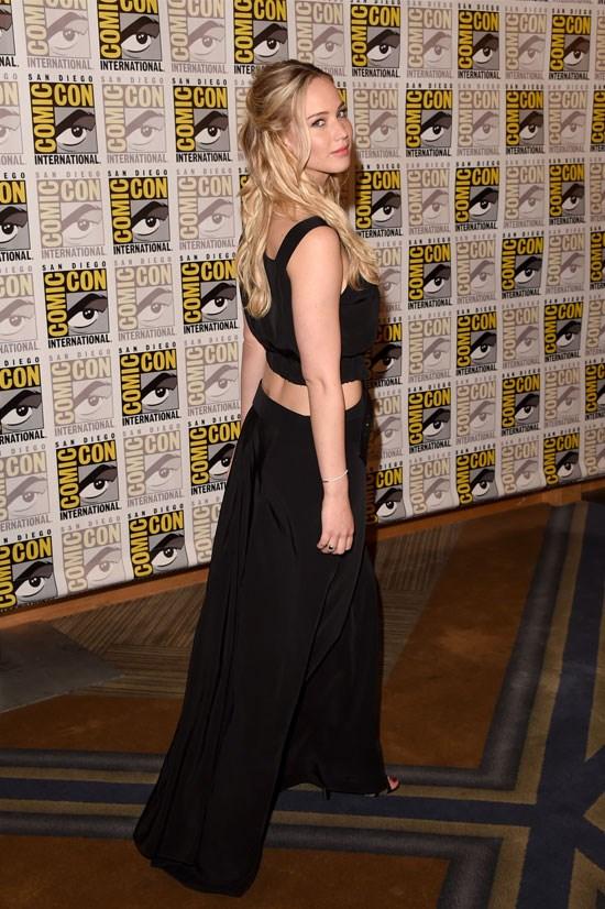 Jennifer Lawrence at the Comic-Con International 2015.