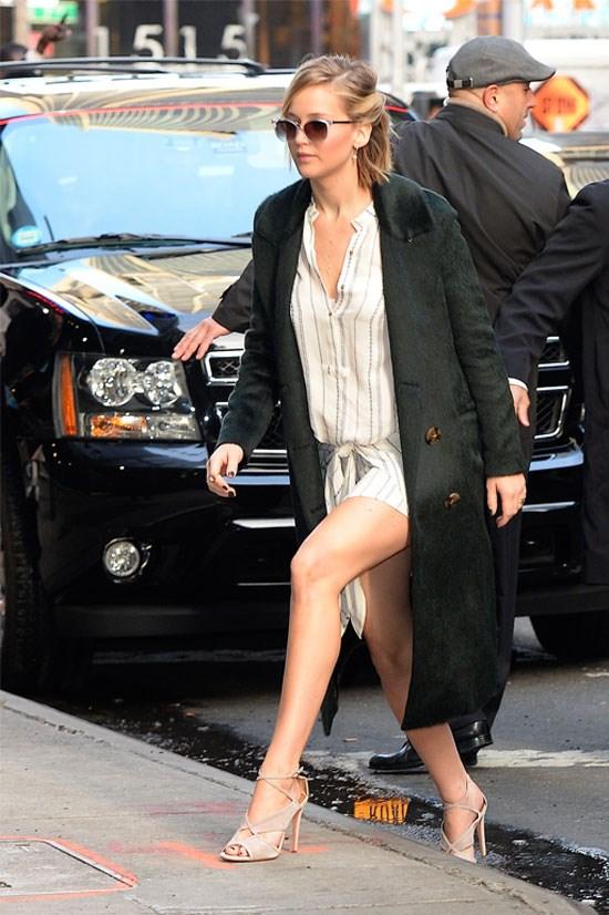 Jennifer Lawrence for 'Good Morning America', November 2014.