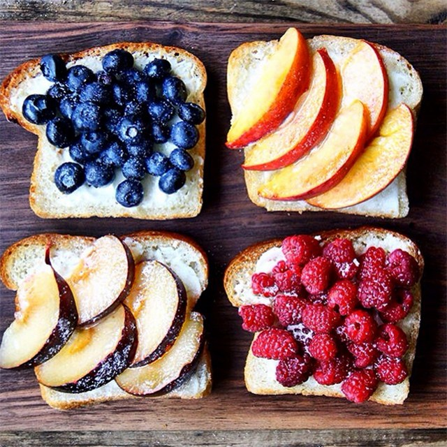 <p><strong>2. Anything on toast</strong></p> <p>Apparently, if you throw a few random food groups onto any sort of sourdough/gluten free/locally sprouted bread, people go crazy for it. Seriously try it. </p> <p>Image: @alexandracooks</p>