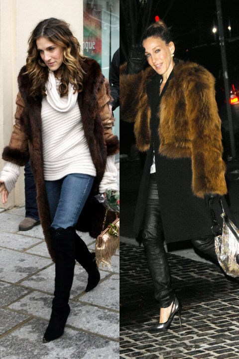 BROWN FUR TWINS GETTY