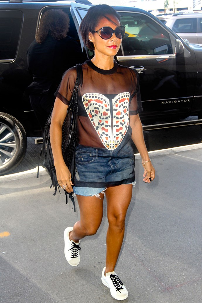 JADA PINKETT-SMITH'S MOST RESPONSIBLE-LOOKING ENSEMBLE