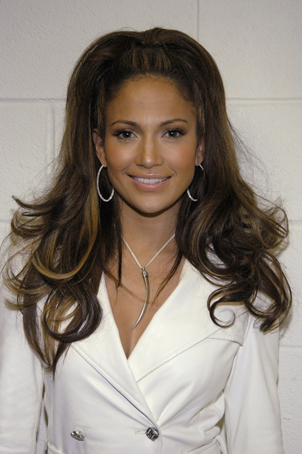 JLo made us reach for the stars (with our ponytails!) Image: Getty