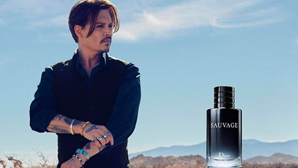 Johnny Depp Stars In The Newest Dior Fragrance Campaign : Elle Johnny Depp Cologne