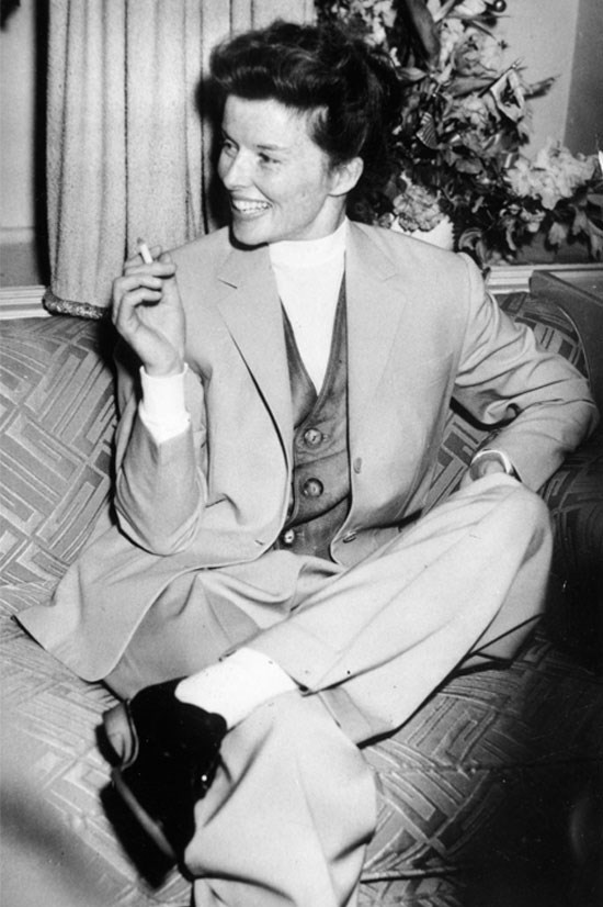 <strong>Katharine Hepburn</strong> in 1952.