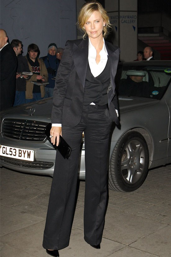 <strong>Charlize Theron</strong> at a screening of <em>North Country</em> in 2006.