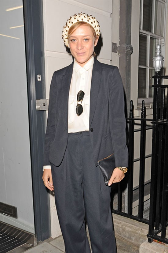 <strong>Chloe Sevigny</strong> spotted in London in 2012.