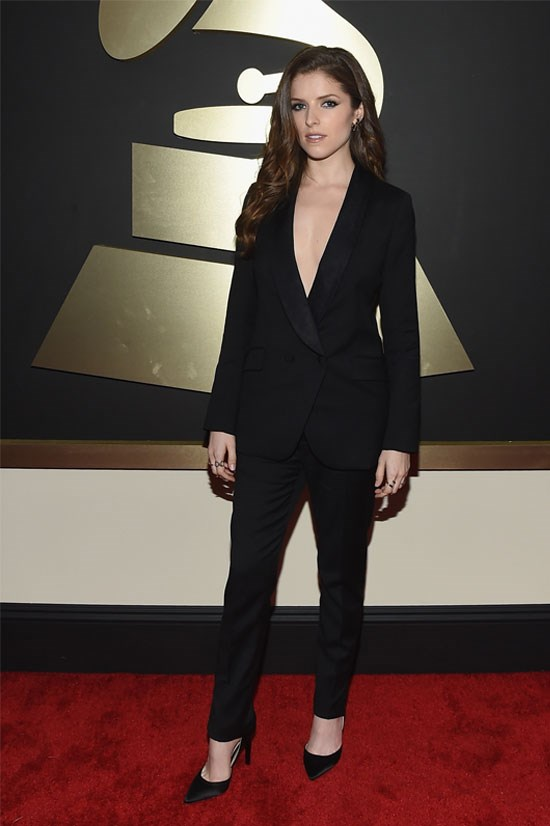 <strong>Anna Kendrick</strong> at the 57th Grammy Awards 2015.