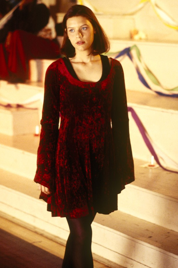 So how many velvet dresses did you own because of this? Asking for a friend.