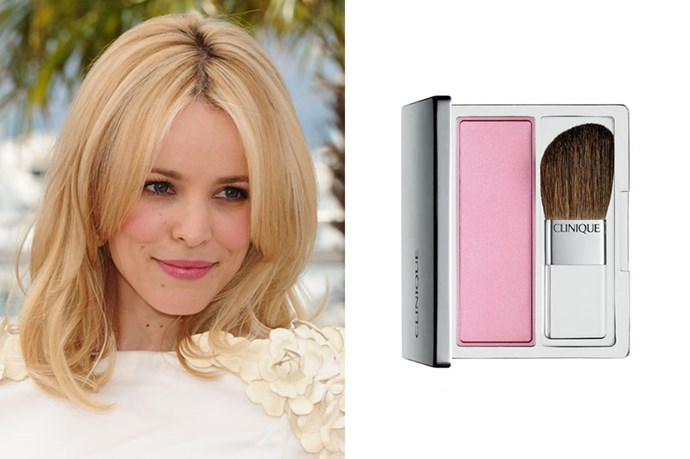 """<strong>If you're pale with cool undertones...</strong> <br> <br> Ivory pale skin looks gorgeous dusted with a cool, pale pink. <a href=""""http://www.clinique.com.au/product/1593/5265/Makeup/Blushers/Blushing-Blush-Powder-Blush""""><em>We love: Blushing Blush Powder Blush in Iced Lotus, Clinique</em></a>"""