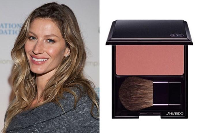 "<strong>If your skin is medium or olive, with a golden base...</strong> <br> <br> Amber-based blush is in line with your golden skin. <br> <br> We love: <a href=""http://shop.davidjones.com.au/djs/en/davidjones/luminizing-satin-face-colour"">Luminizing Satin Face Colour in Carnation, Shiseido</a>"