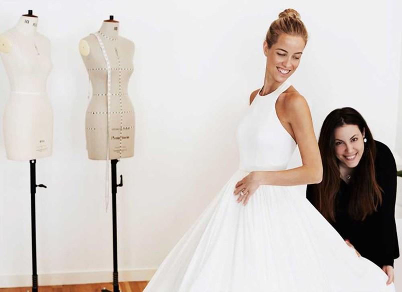 Mary katrantzou elle for Where can i get my wedding dress steamed