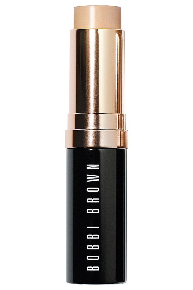 "<strong>The foundation stick </strong> <br> <br> <a href=""null""></a> Sticks work as all-over coverage as well as a targeted concealer. Just dot and blend with your fingers. Grab one for your handbag too, you'll thank us later. <br> <br> <a href=""http://www.bobbibrown.com.au/product/14017/29723/Makeup/Face-and-Cheek/Foundation/Skin-Foundation-Stick/Free-Shipping-Returns"">This one</a> is a classic, but <a href=""http://shop.davidjones.com.au/djs/ProductDisplay?catalogId=10051&productId=2649013&langId=-1&storeId=10051&cm_mmc=googlesem-_-PLA-_-Health+and+Beauty+-+Personal+Care-_-Tom+Ford+Traceless+Foundation+Stick&CAWELAID=620017140001306733&CAGPSPN=pla&gclid=CjwKEAjw3uWuBRD_s-3a8-_h6j0SJAC-qgtHUe33JHgI4HZerLZLJl_tUT-G0Go2QOiiuwez1bWsYRoCQRnw_wcB&gclsrc=aw.ds"">this </a>and <a href=""https://www.priceline.com.au/maybelline-fit-me-shine-free-foundation-stick-9-g"">this </a>are fabulous too."