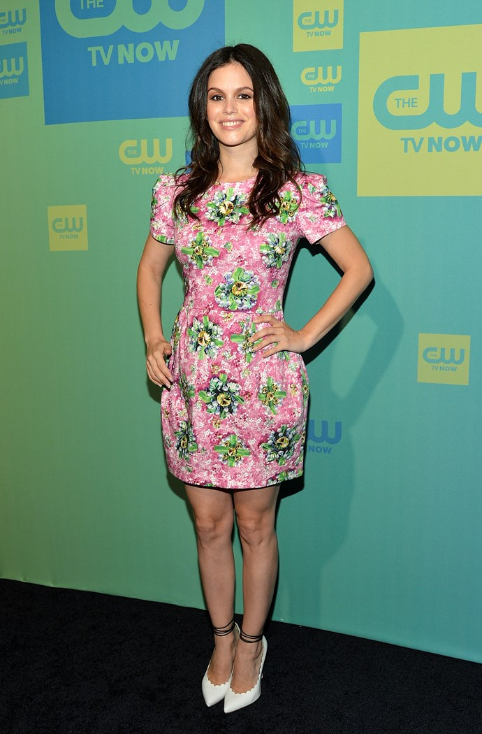 : Rachel Bilson at The CW Network's New York 2014 Upfront Presentation May 15, 2014