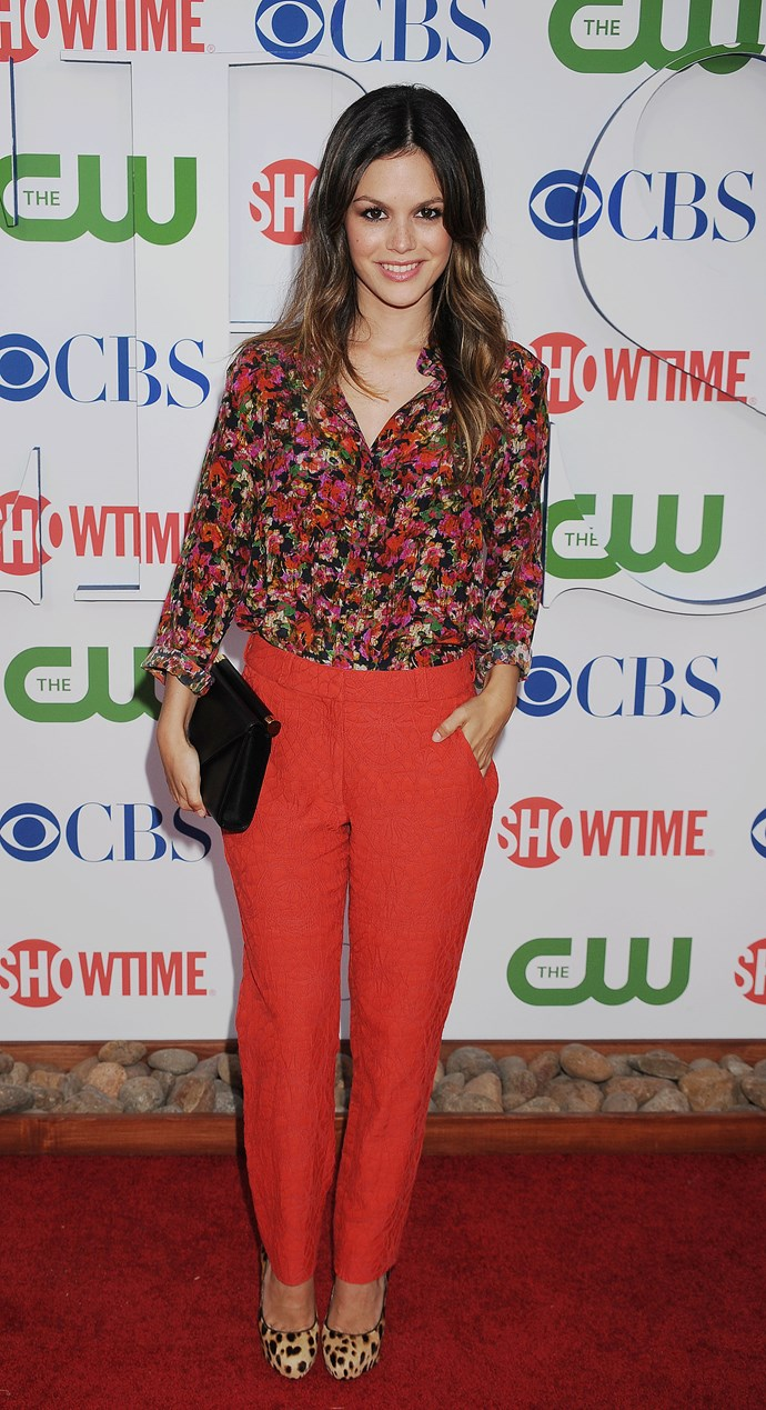 Rachel Bilson arrives at the TCA Party for CBS, The CW and Showtime held at The Pagoda on August 3, 2011 in Beverly Hills, California