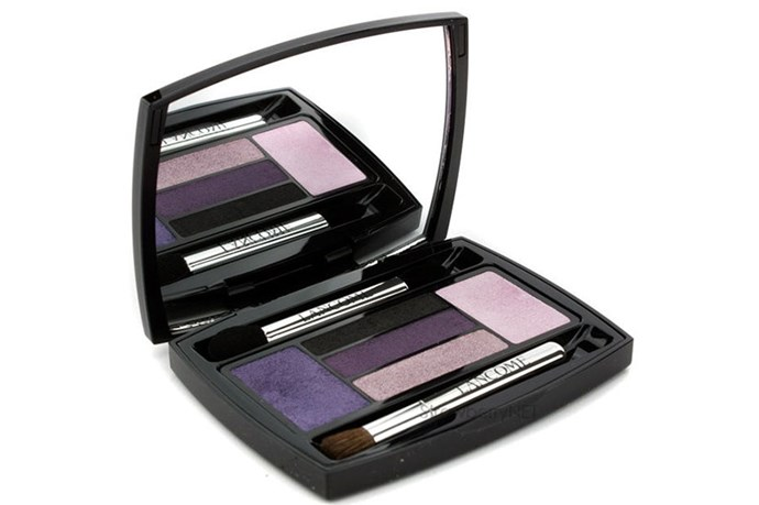 "<strong>Best for...Dark brown eyes</strong> <Br> <br> Dark eyes can handle stronger tones so play around with rich violets and deep black along your lash line <br> <br> <em><a href=""http://www.lancome.com.au/makeup/eyes/eye-shadows/hypnose-palette"">Hypnôse Palette in Violet Magnetique, Lancôme  </a> </em>"