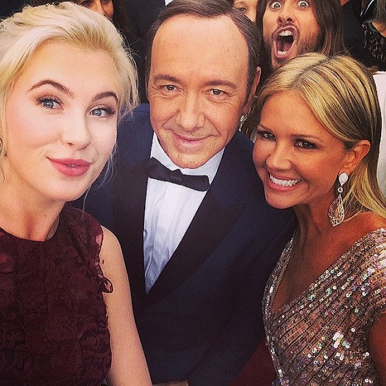 Jared Leto is also a proficient - and enthusiastic - photobomber.
