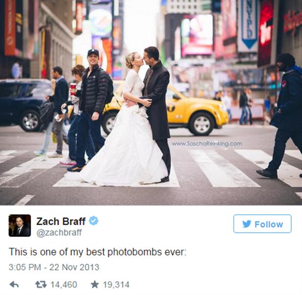 We agree Zach Braff, we agree.